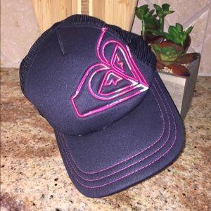 ROXY Blue & Pink Mesh Baseball Trucker Hat